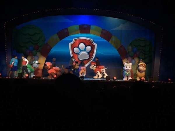 Fox Theatre (Atlanta), secção: Orchestra C, fila: AA, lugar: 108