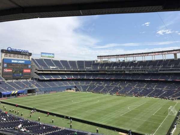 SDCCU Stadium, secção: C12, fila: 12, lugar: 1