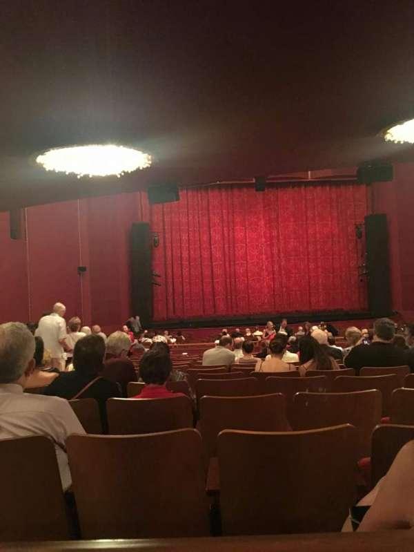 The Kennedy Center Opera House, secção: Orchestra, fila: HH, lugar: 120
