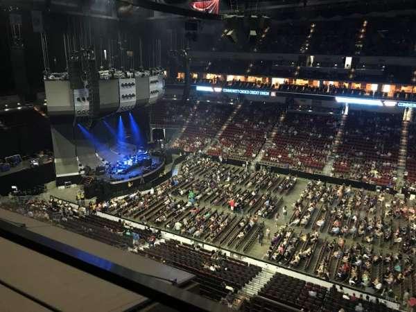 Wells Fargo Arena, secção: 319, fila: A, lugar: 5