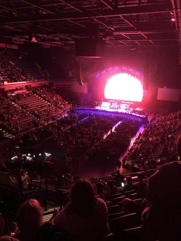 Mohegan Sun Arena, secção: 110, fila: K, lugar: 19