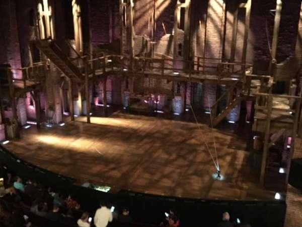 Richard Rodgers Theatre, secção: Front Mezzanine R, fila: A, lugar: 6-8
