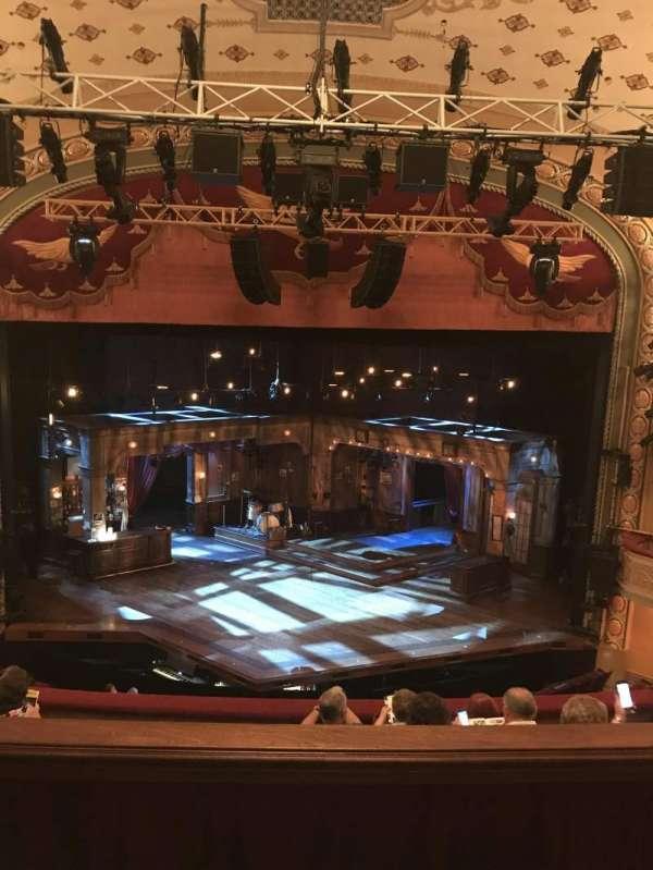 Bernard B. Jacobs Theatre, secção: Mezzanine C, fila: E, lugar: 108