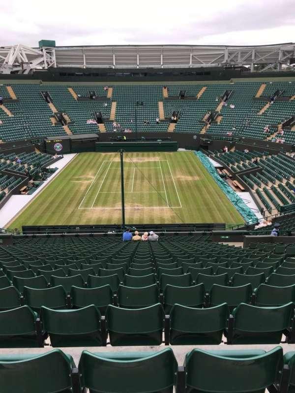 Wimbledon, Court No. 1, secção: 21, fila: Y, lugar: 273