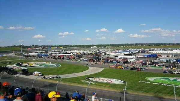 Kentucky Speedway, secção: 3C, fila: 20, lugar: 22
