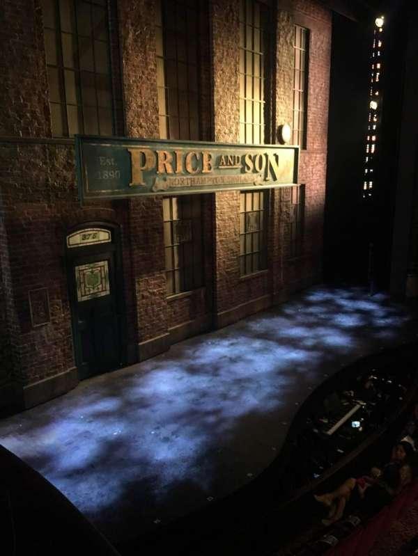 Al Hirschfeld Theatre, secção: Left Box, fila: C, lugar: 6