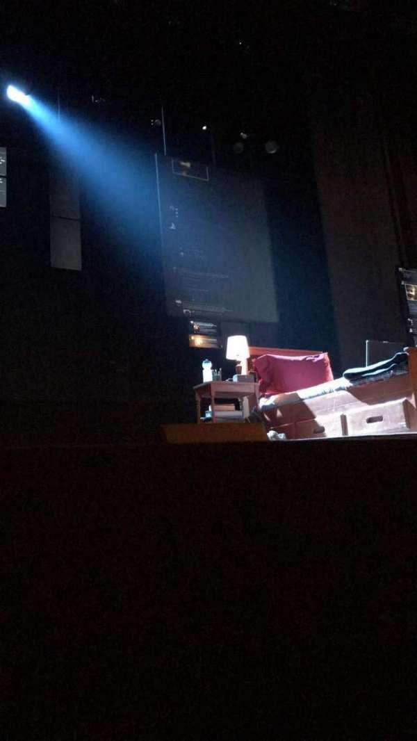 Music Box Theatre, secção: Orchestra C, fila: A, lugar: 110