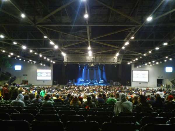 Concord Pavilion, secção: 205, fila: K, lugar: 107