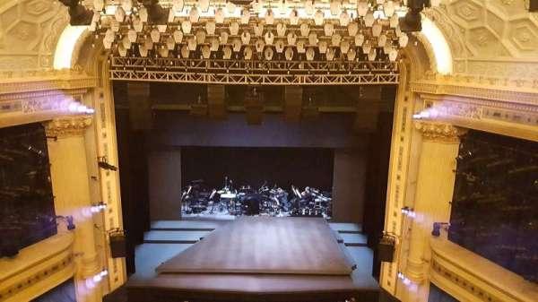 Hudson Theatre, secção: Balcony C, fila: c, lugar: 109