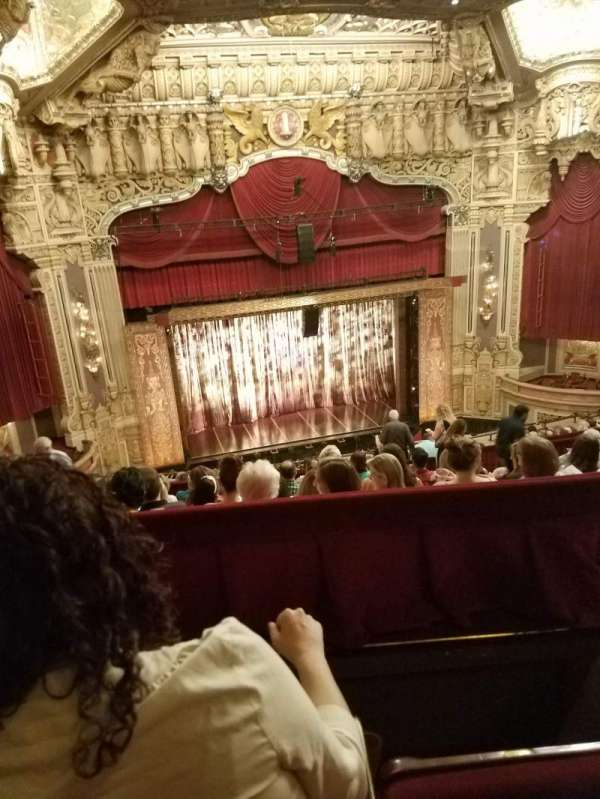 Nederlander Theatre (Chicago), secção: Balcony LC, fila: N, lugar: 333