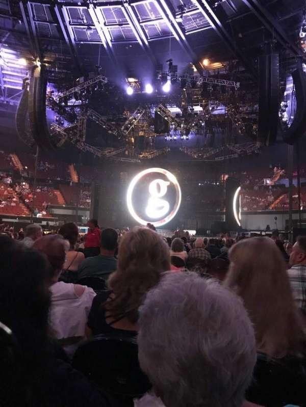The Forum, secção: Floor, fila: J, lugar: 6