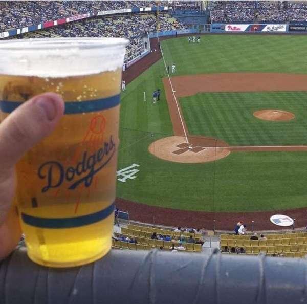 Dodger Stadium, secção: 6RS, fila: A, lugar: 18