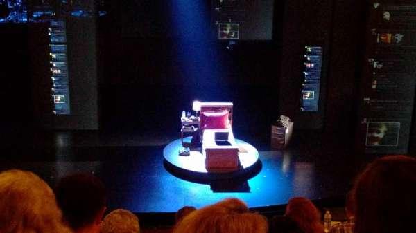 Music Box Theatre, secção: Mezzanine C, fila: F, lugar: 109