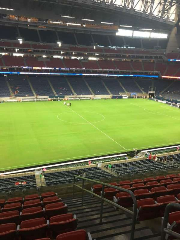 NRG Stadium, secção: 340, fila: P, lugar: 4