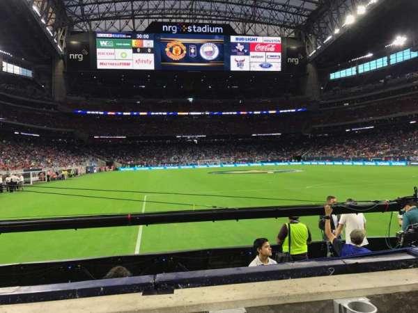 NRG Stadium, secção: 138, fila: B, lugar: 15