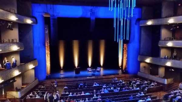 Winspear Opera House, secção: Mezzanine, fila: A, lugar: 18