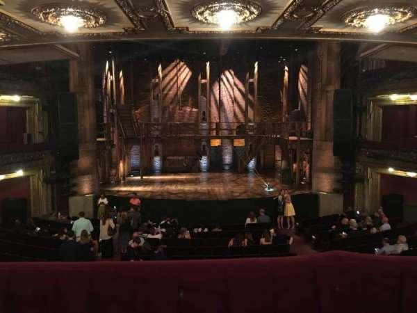 CIBC Theatre, secção: Dress Circle C, fila: A, lugar: 205