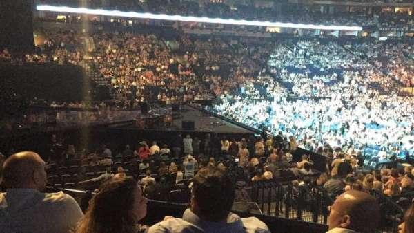 Bridgestone Arena, secção: 113, fila: C, lugar: 5