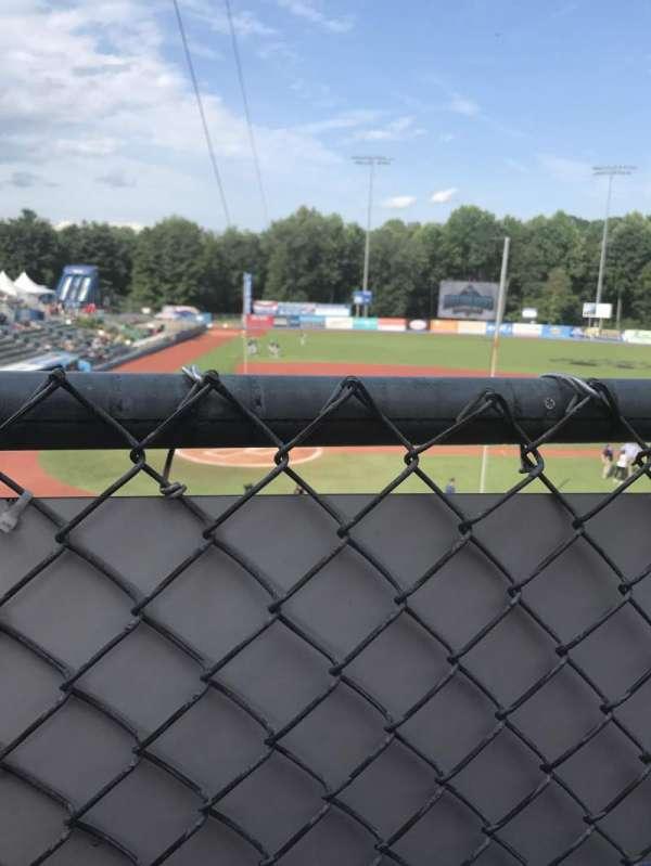 Dutchess Stadium, secção: 200, fila: KK, lugar: 1