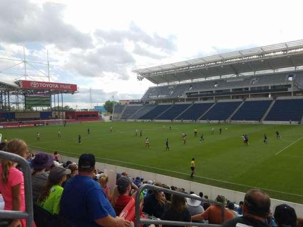 SeatGeek Stadium, secção: 124, fila: 14, lugar: 19-20
