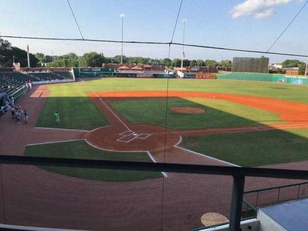 Bowling Green Ballpark, secção: 205, fila: A, lugar: 3,4