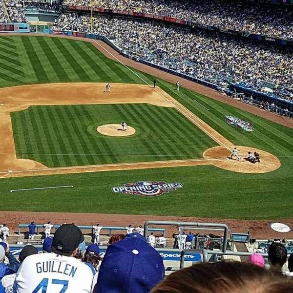 Dodger Stadium, secção: 19RS, fila: G, lugar: 2