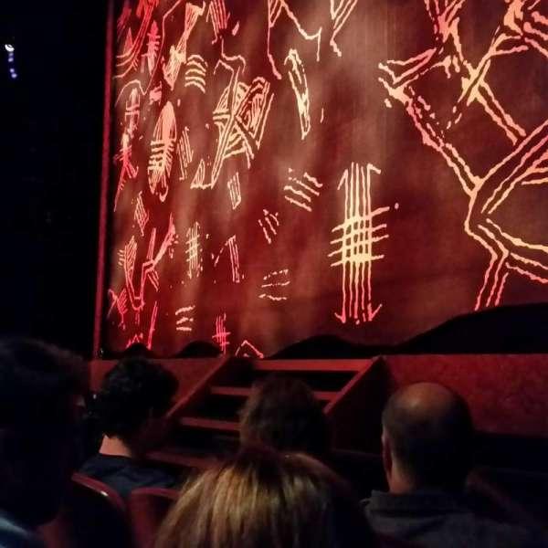 Minskoff Theatre, secção: Orchestra R, fila: C, lugar: 12