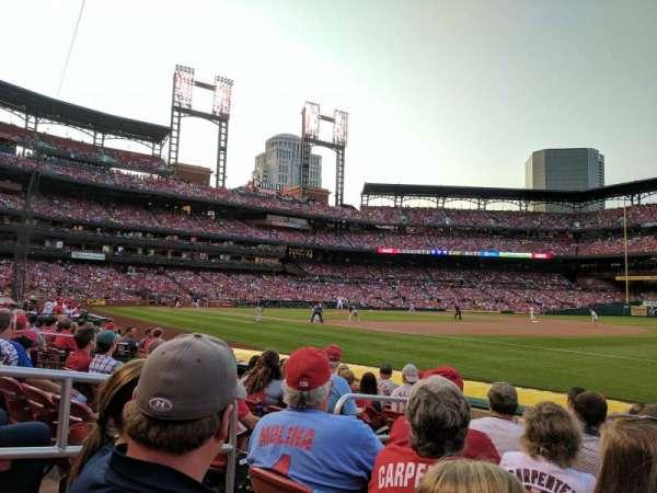 Busch Stadium, secção: 138D, fila: H, lugar: 4