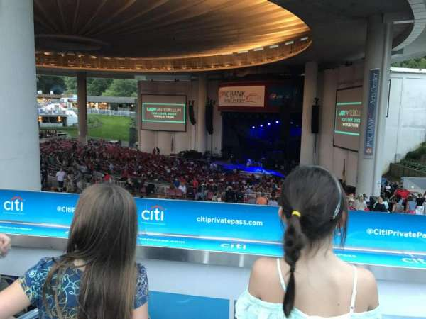 PNC Bank Arts Center, secção: South Deck