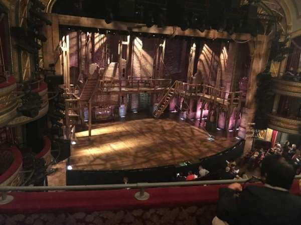 Richard Rodgers Theatre, secção: Front Mezzanine L, fila: C, lugar: 19