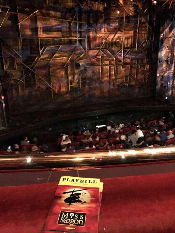 Broadway Theatre - 53rd Street, secção: Rear Mezzanine LC, fila: A, lugar: 102