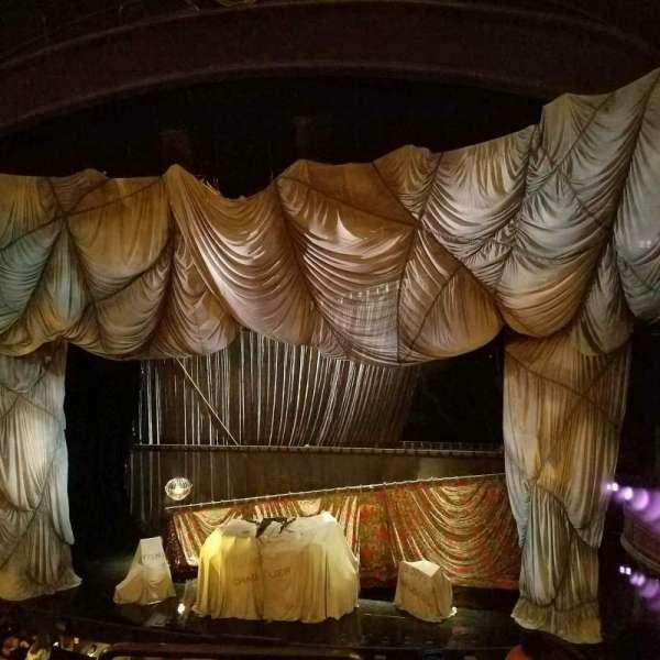 Majestic Theatre, secção: Front Mezzanine R, fila: C, lugar: 2