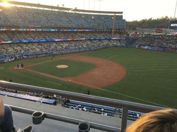 Dodger Stadium, secção: 28RS, fila: B, lugar: 20
