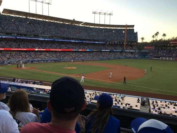Dodger Stadium, secção: 144LG, fila: C, lugar: 5