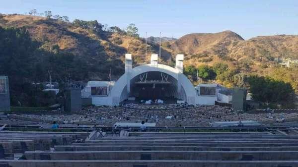Hollywood Bowl, secção: N1, fila: 16, lugar: 8