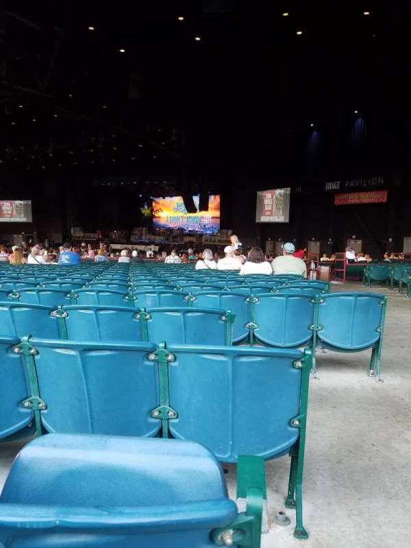 BB&T Pavilion, secção: 201, fila: W, lugar: 37