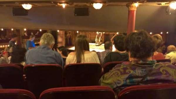 CIBC Theatre, secção: dress circle rc, fila: H, lugar: 230