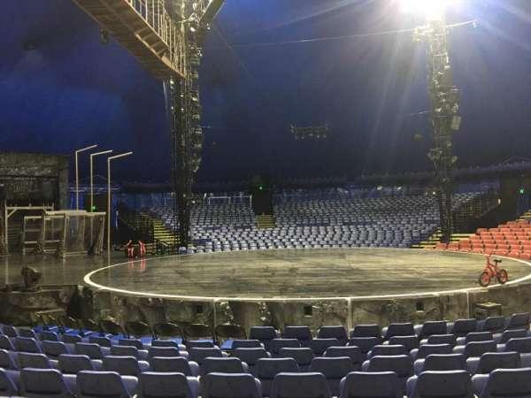 Cirque Du Soleil - Volta, secção: 103, fila: E