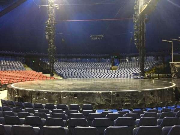 Cirque Du Soleil - Volta, secção: 104, fila: E