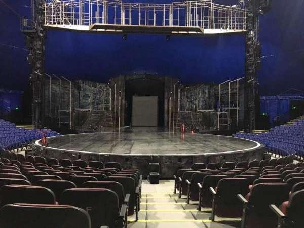 Cirque Du Soleil - Volta, secção: 200, fila: H