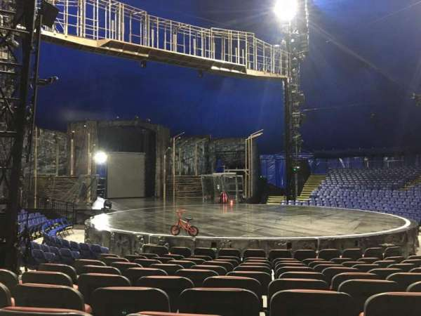 Cirque Du Soleil - Volta, secção: 201, fila: H