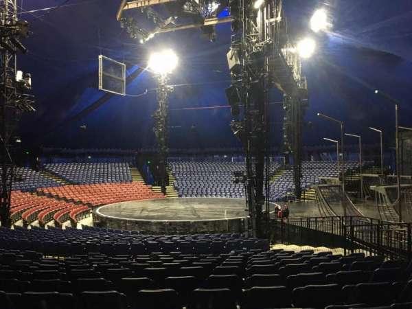 Cirque Du Soleil - Volta, secção: 206, fila: Q