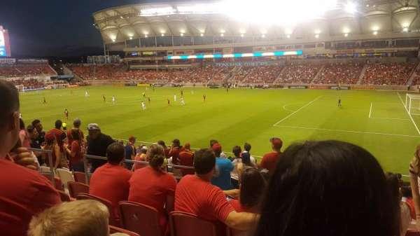 Rio Tinto Stadium, secção: 34, fila: Y, lugar: 22