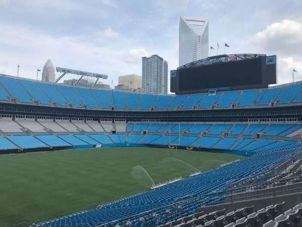 Bank of America Stadium, secção: 349, fila: 8, lugar: 2