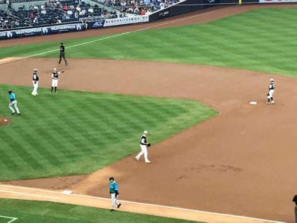 Yankee Stadium, secção: 214A, fila: 18, lugar: 2