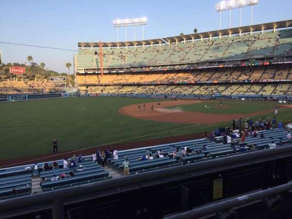Dodger Stadium, secção: 151LG, fila: B, lugar: 7