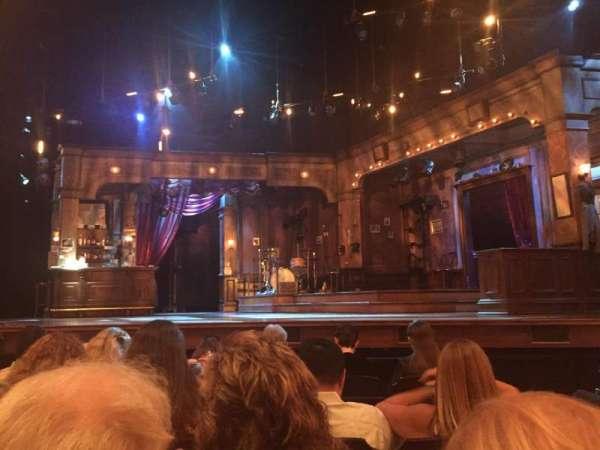 Bernard B. Jacobs Theatre, secção: Center Orch, fila: F, lugar: 101