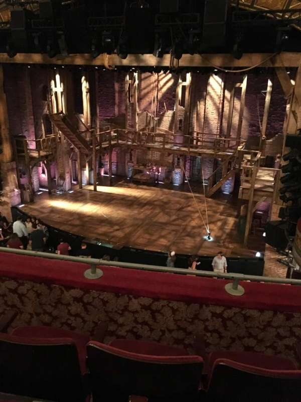 Richard Rodgers Theatre, secção: Front Mezzanine R, fila: C, lugar: 10