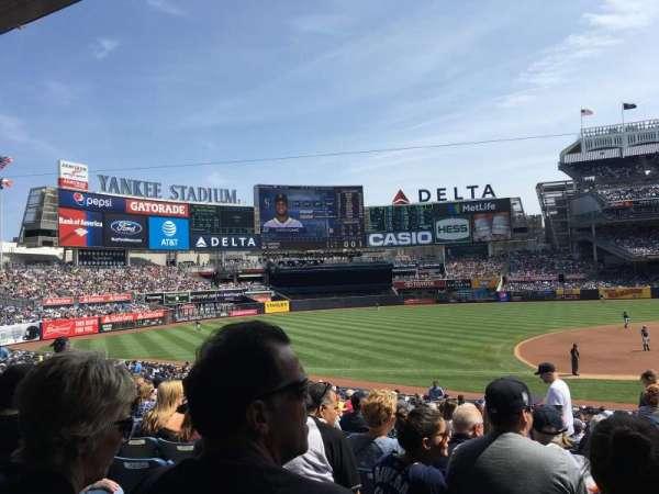 Yankee Stadium, secção: 126, fila: 16, lugar: 3