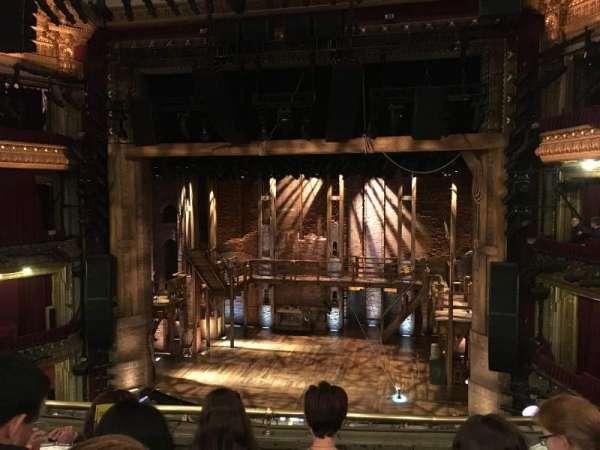 CIBC Theatre, secção: Balcony RC, fila: D, lugar: 414